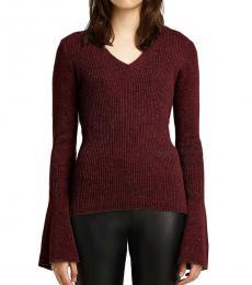Maroon Stevie Sweater