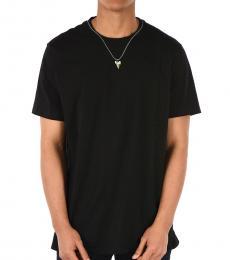 Neil Barrett Black Slim Fit Sharktooth T-Shirt
