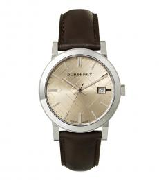 Burberry Brown Heritage Watch