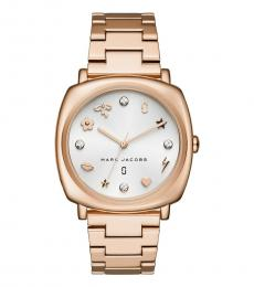 Marc Jacobs Rose Gold Mandy Watch