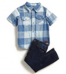 2 Piece Shirt/Jeans Set (Baby Boys)