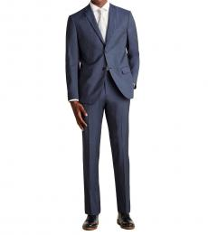 Theory Blue Two-Piece Alcide Suit