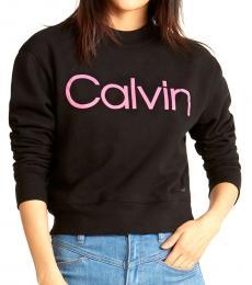 Calvin Klein Black Logo Sweatshirt
