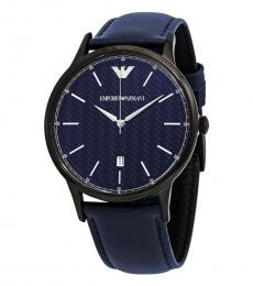 Emporio Armani Blue Logo Watch