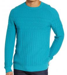 Turquoise Subond Regular Sweater