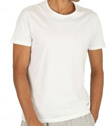 Emporio Armani White 2 Pack Lounge T-Shirts