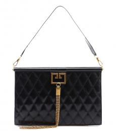 Givenchy Black Gem Large Shoulder Bag