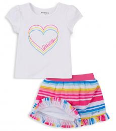 Juicy Couture 2-Piece Top/Skirt Set (Little Girls)