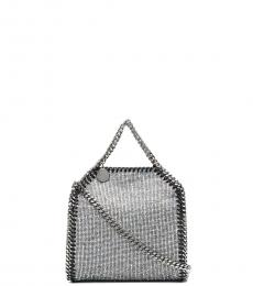 Stella McCartney Silver Falabella Mini Shoulder Bag