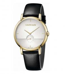 Calvin Klein Black Established Quartz Watch