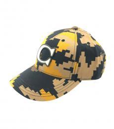 Coach Yellow Black Camo Cap