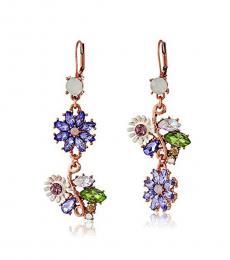 Multi color Magical Flower Earrings