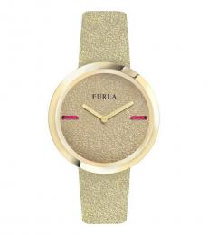 Furla Beige My Piper Watch