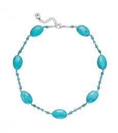 Ralph Lauren Turquoise Beaded Collar Necklace