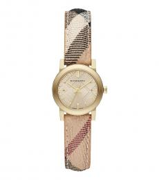Burberry Check Stamped Classic Watch