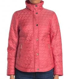 Michael Kors Coral Missy Quilted Jacket