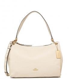 Coach Chalk Mia Large Shoulder Bag