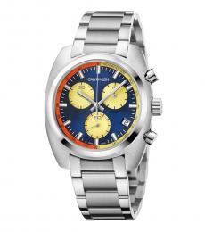Calvin Klein Silver Achieve Chronograph Watch