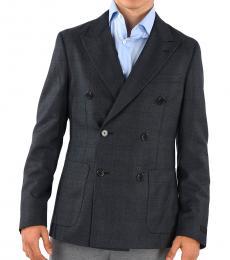 Dark Grey Wool Blazer