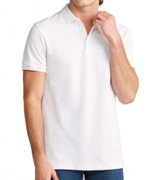 Versace Collection White Medusa Chest Polo