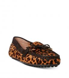 Ralph Lauren Leopard Print Briley Loafers