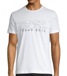 White Cuts Logo T-Shirt