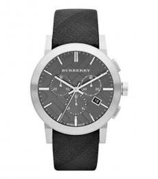 Burberry Black Chronograph Modish Watch