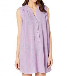Lilac Swing Beach Shirt Cover-Up