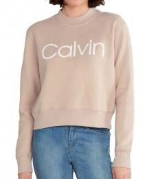 Calvin Klein Garnet Logo Sweatshirt