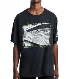 True Religion Black Graphic T-Shirt