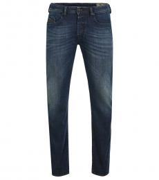 Diesel Blue Tapered Fit Jeans