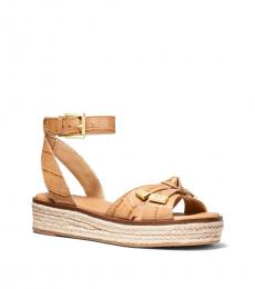 Michael Kors Peanut Ripley Espadrille Sandals