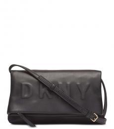 DKNY Black Tilly Medium Crossbody Bag