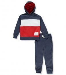 DKNY 2 Piece Sweatsuit Set (Boys)