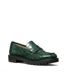Michael Kors Moss Holland Croc Print Loafers