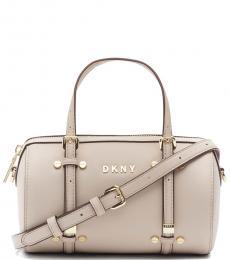 Beige Bo Mini Duffle Bag