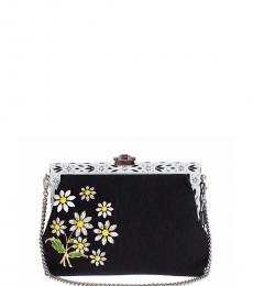 Dolce & Gabbana Black Vanda Medium Shoulder Bag