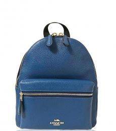 Coach Atlantic Blue Charlie Small Backpack