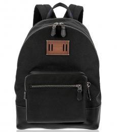 Coach Black Cordura Wesr Large Backpack