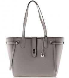 Michael Kors Pearl Gray Cassie Large Tote