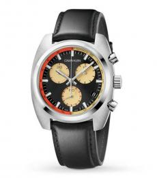 Calvin Klein Black Chronograph Watch