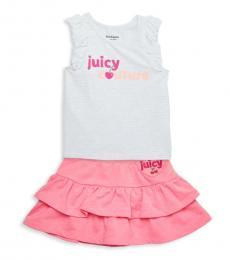 Juicy Couture 2 Piece Tank/Skirt Set (Little Girls)