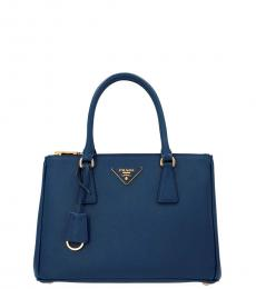 Blue Galleria Medium Satchel