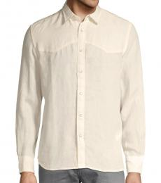 Diesel Ivory Plan A Western Shirt