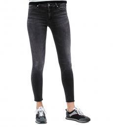 Black Super Skinny Denim Jeans