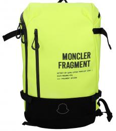 Moncler Yellow Travel Large Backpack