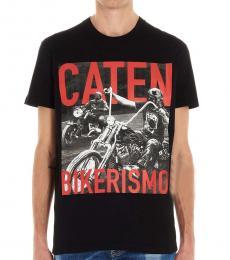 Black Bikerismo Logo T-Shirt