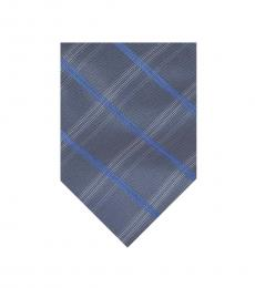 Calvin Klein Navy Reflection Pane Tie