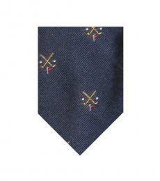Ralph Lauren Navy Golf Tie