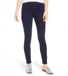AG Adriano Goldschmied Indigo Ink Farrah High-Rise Skinny Jeans